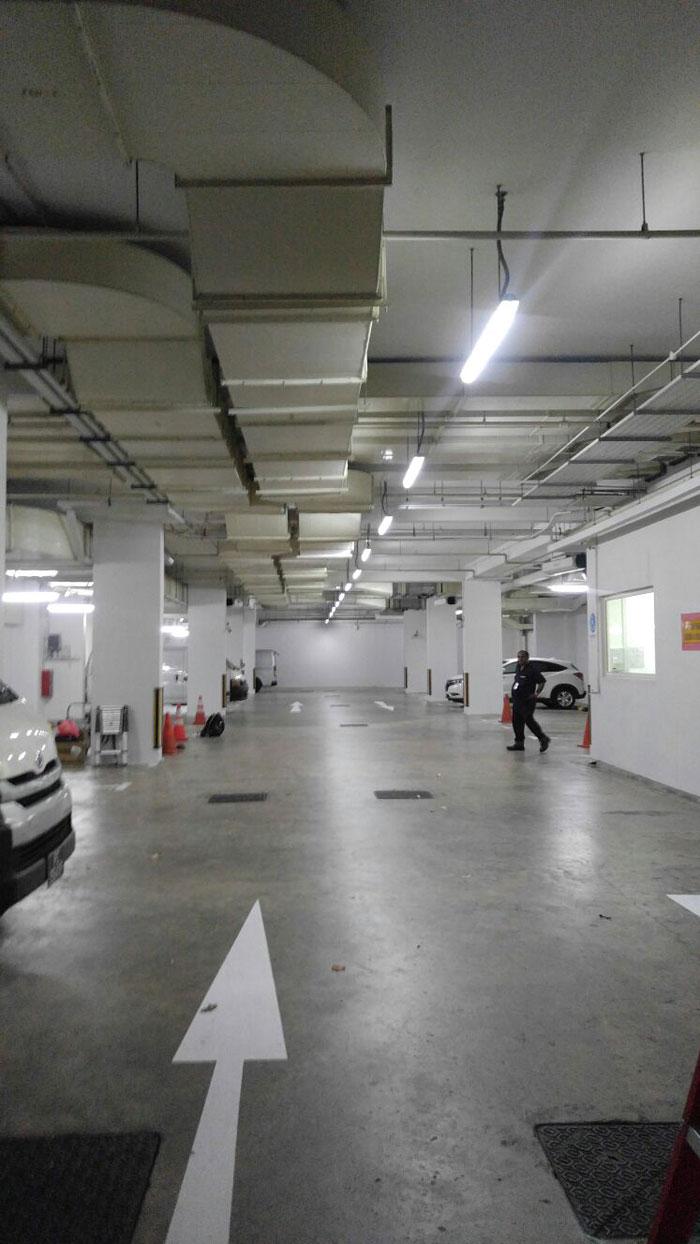 Ren Ci Hospital Carpark LED Lighting