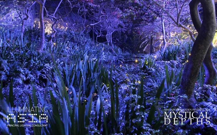 Mystical Depths in Singapore Garden Festival 2016