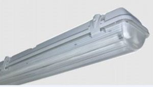 Fluorescent Light Recessed Half mirror louvre fluorescent fitting with  2x36W tube